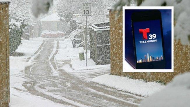 ¡Tiempo invernal! Descarga aquí el app de Telemundo 39