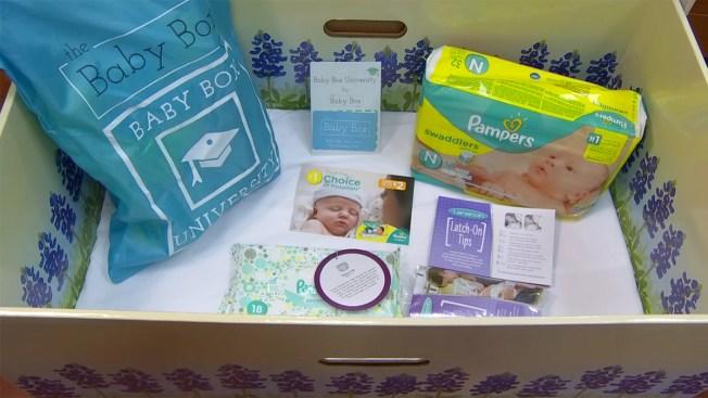 Cajas de cartón para combatir mortalidad infantil