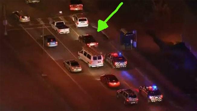 Policía de North Richland Hills deja de perseguir automovilista