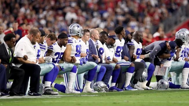 """Trump agradece a """"Dallas Cowboys"""" respetar el Himno Nacional"""