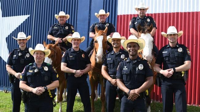 Policia de Grand Prairie incorpora sombrero texano al uniforme