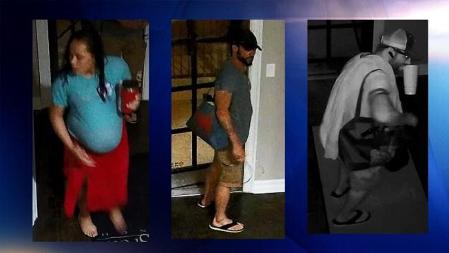 Embarazada y un hombre sospechosos de robo en Fort Worth