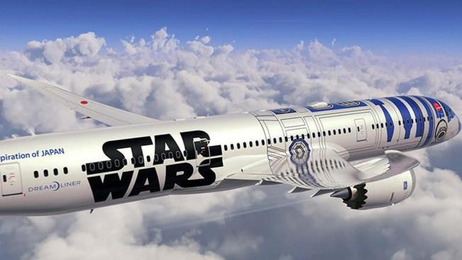 "Robot de ""Star Wars"" inspira diseño de avión"