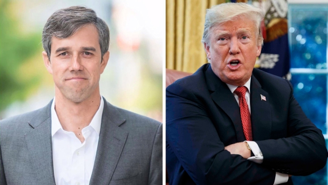 O'Rourke dice que votaría para destituir al presidente Trump