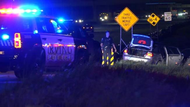 Arrestan a tres personas tras persecución en Irving