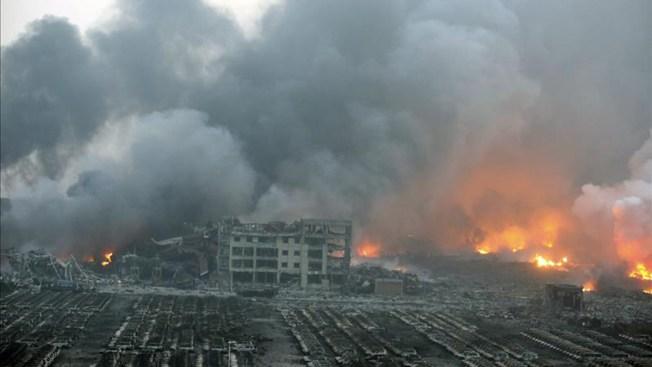 Al menos 50 muertos tras explosión en China