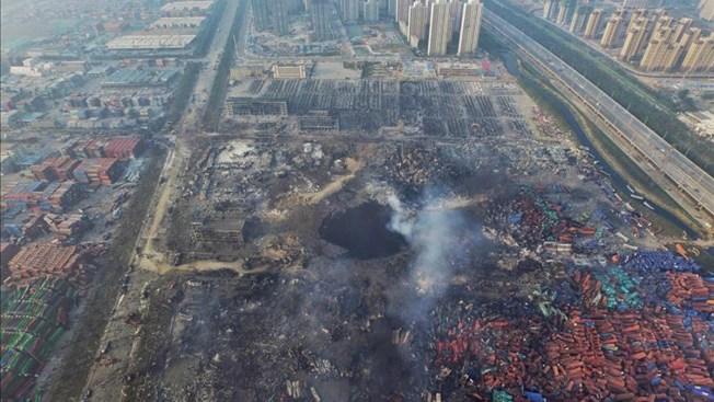 Detienen a dos tras explosión en China