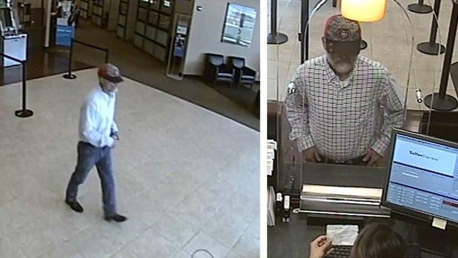 Buscan a ladrón de bancos en Fort Worth