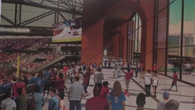Revelan planes del nuevo estadio de béisbol en Arlington