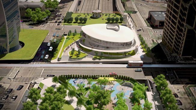 Revelan plan de expansión del Klyde Warren Park en Dallas
