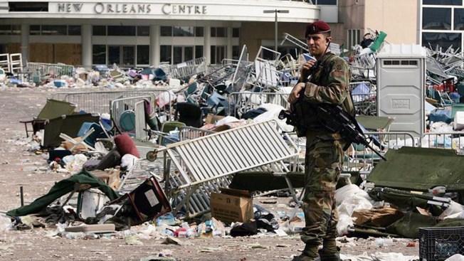 Recuerdan el paso de Katrina en Nueva Orleans