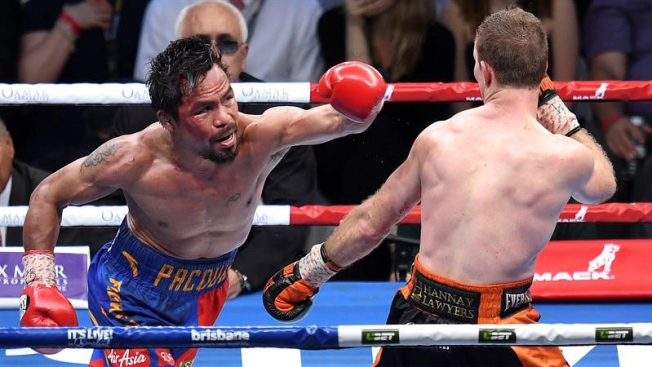 Jueces otorgan polémica victoria a Horn sobre Pacquiao