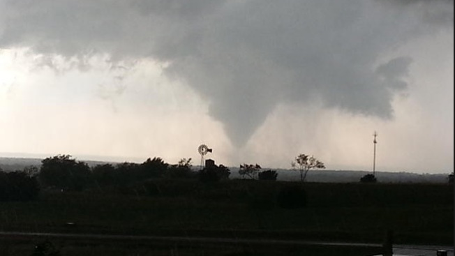 Los peores tornados de Texas