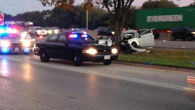 Accidente mortal en I-35E