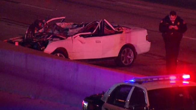 Accidente mortal cierra la I-35W