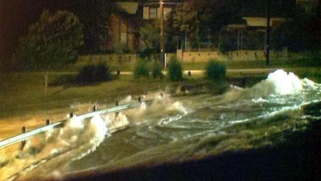 Tremendas inundaciones en Dallas