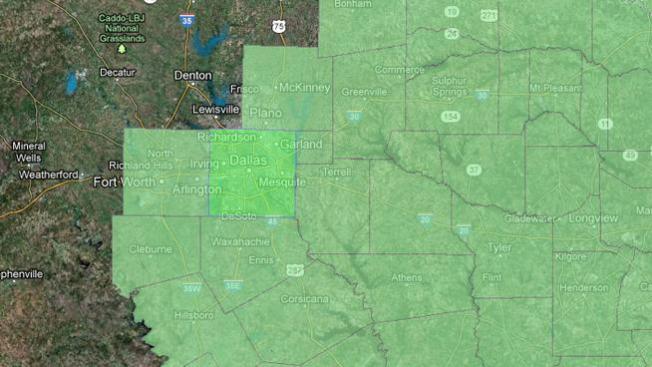 Vigilancia de inundaciones en Texas