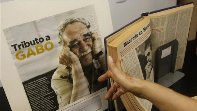 Archivo personal de Gabo, en Austin