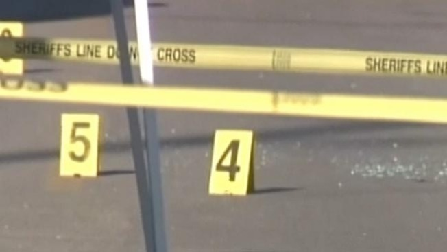 Cinco adolescentes baleados en Harris