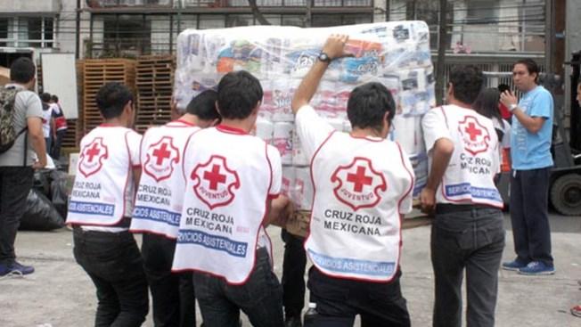 Dallas ayuda a damnificados en México
