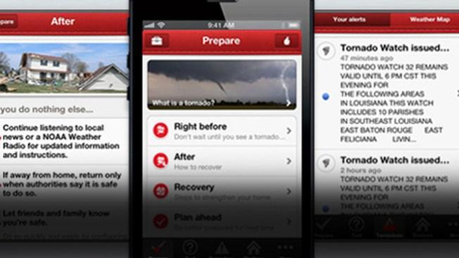 Cruz Roja lanza aplicación para tornados