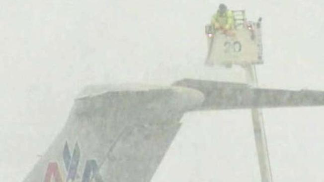 Cancelaciones en DFW por nevada
