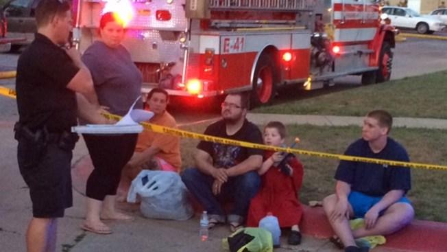 49 personas desplazadas por incendio