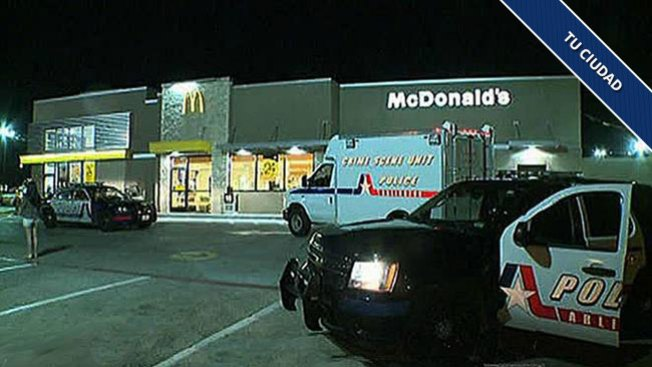 Tiroteo frente a McDonald's