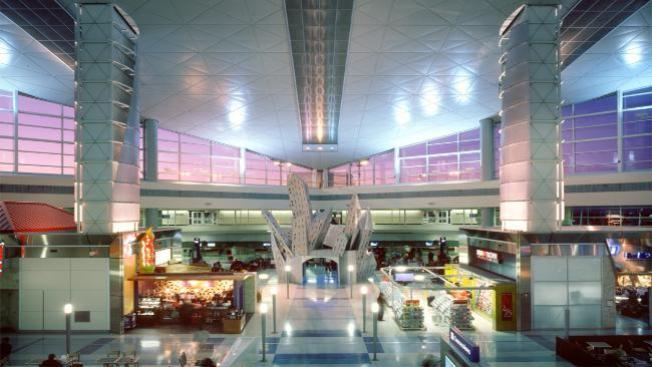 Aeropuerto DFW de estreno