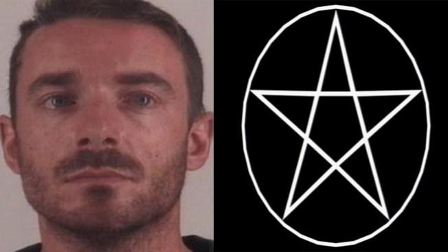 Acusado por tallar pentagrama en hijo