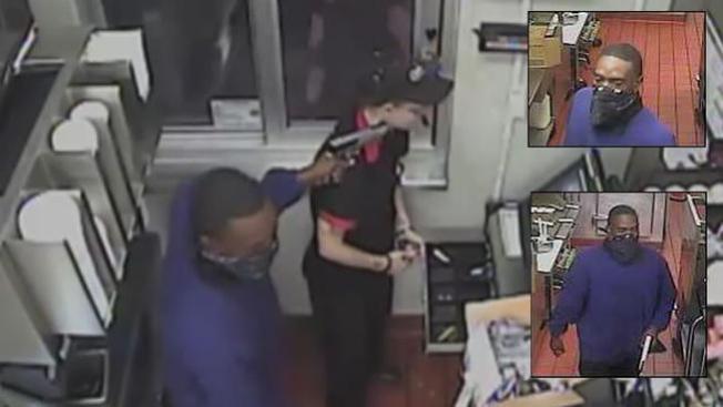 Violento robo captado en cámara