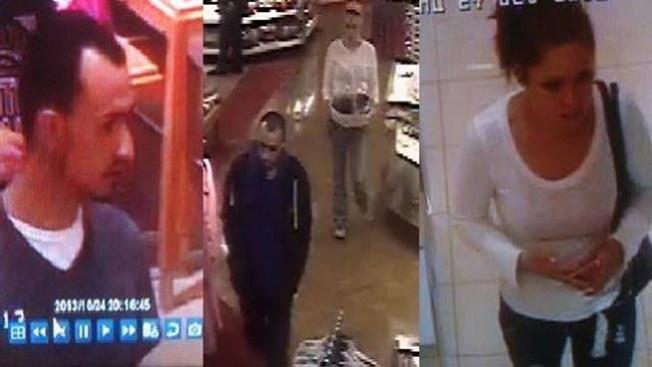 Presuntos ladrones de Michael Kors