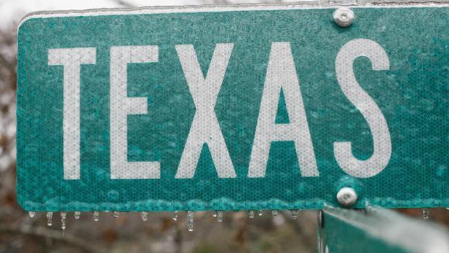 Tormenta invernal en Texas