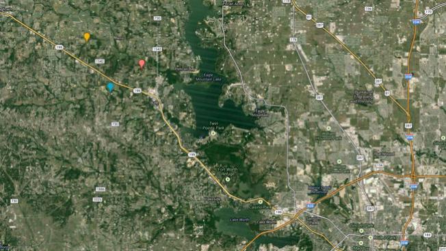 10 sismos en el área de Azle