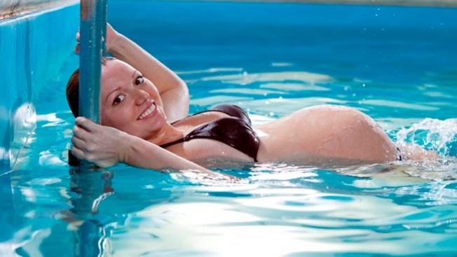 Embarazadas ¡al agua!