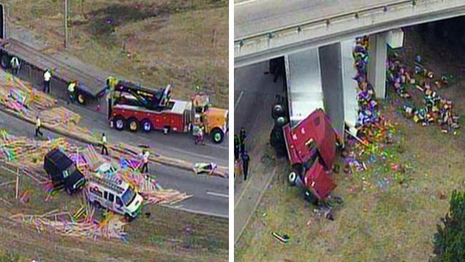 ¡Qué tiradero en las autopistas!