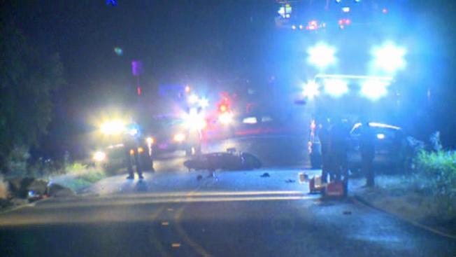 Accidente motociclista deja dos muertos