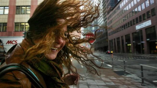 Día ventoso y noche fría en el Metroplex