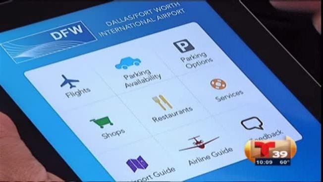 Nueva App para el aeropuerto de DFW