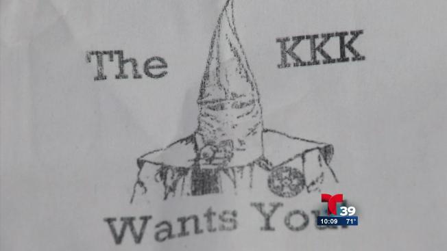 KKK recluta y remata contra inmigrantes