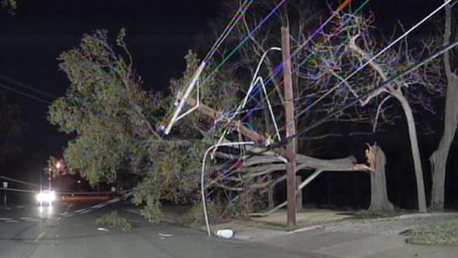 Vientos fuertes causaron apagones