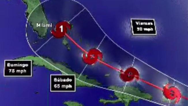 Tormenta Érika se aproxima a Islas de Sotavento