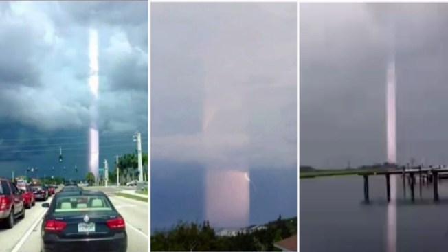 Aclaran misterio de tubos de luz en el cielo