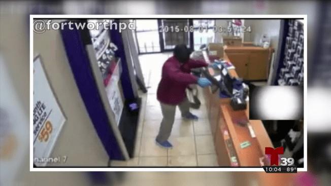 Violento robo captado en video