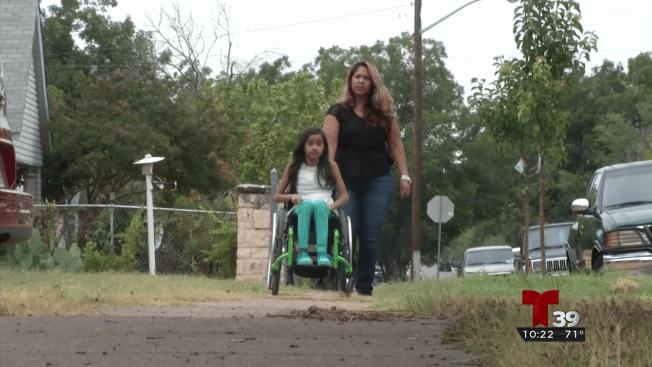 Mujer con discapacidad parcial protagoniza persecución