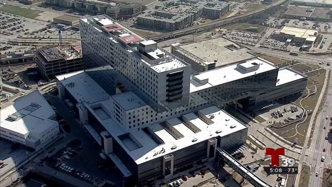 Las nuevas instalaciones del hospital Parkland