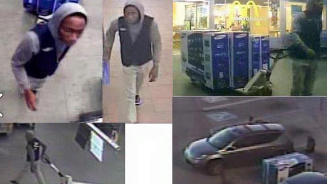 Se viste como empleado de Wal-Mart para robar