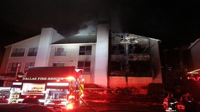 Dos incendios, mismo edificio