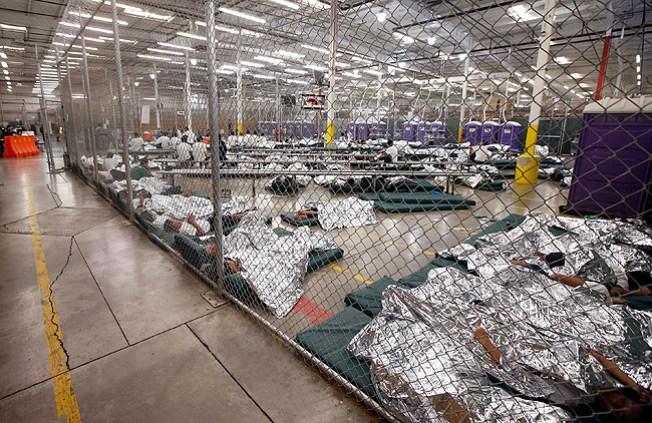 Alistan albergues para niños inmigrantes