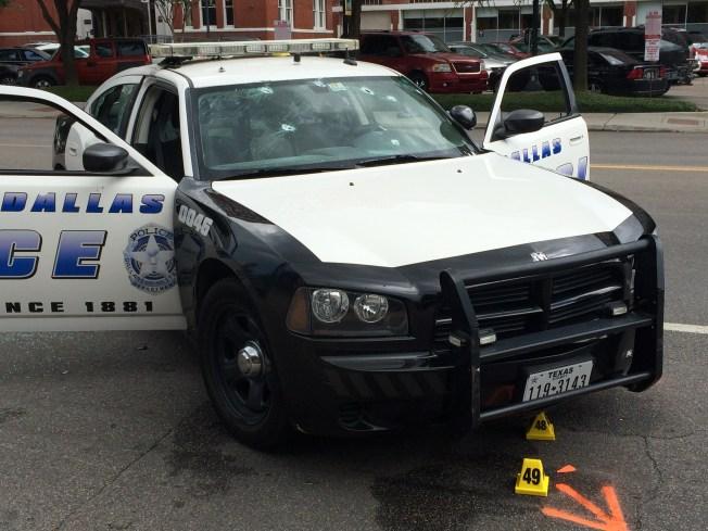 Estacionamiento de la Policía de Dallas continúa inseguro